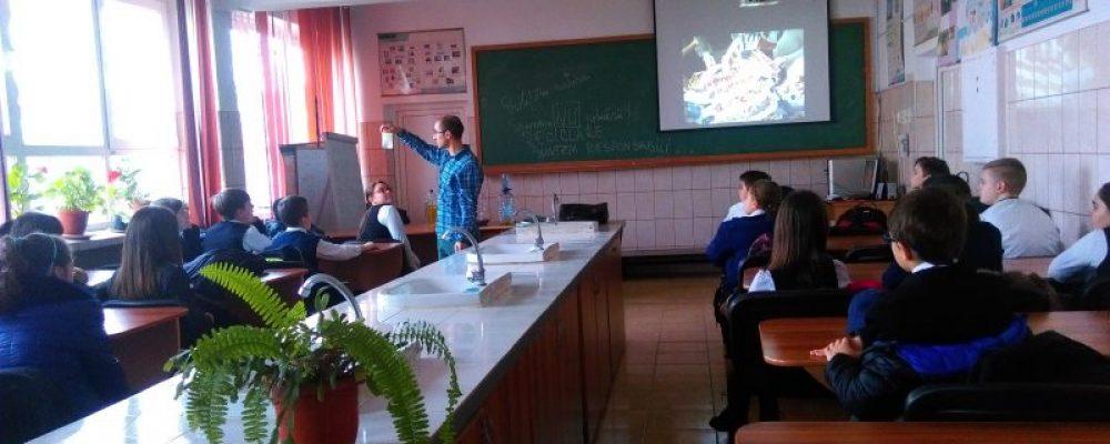 """Lecții educative la Școala Gimnazială """"Nicolae Iorga"""" din Iași"""