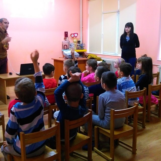 Lecții educative la Grădinița cu Program Prelungit nr. 21 din Iași