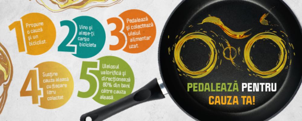 Ești gata să pedalezi pentru cauza ta?